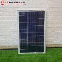 Pin mặt trời mini công nghệ Poly 60W size ngang