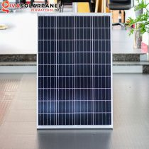 Pin năng lượng mặt trời giá rẻ công nghệ Poly 100W