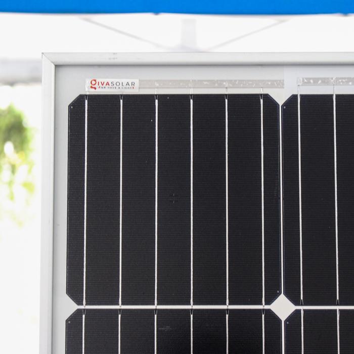 Tấm pin năng lượng mặt trời đơn tinh thể công suất lớn 400W 6
