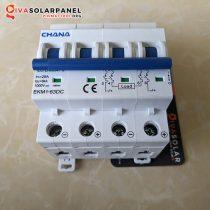 MCB DC năng lượng mặt trời CHANA 4P 6KA 25A 1000V