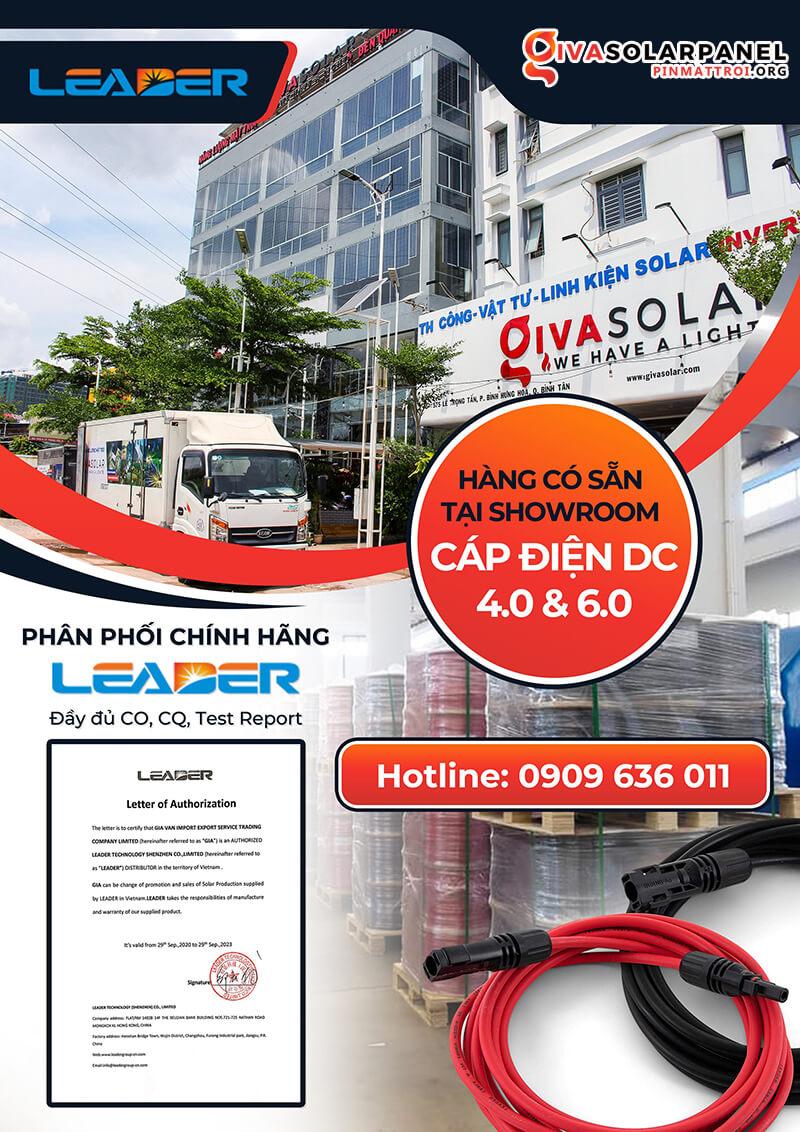 Dây cáp điện Leader 4mm2 1