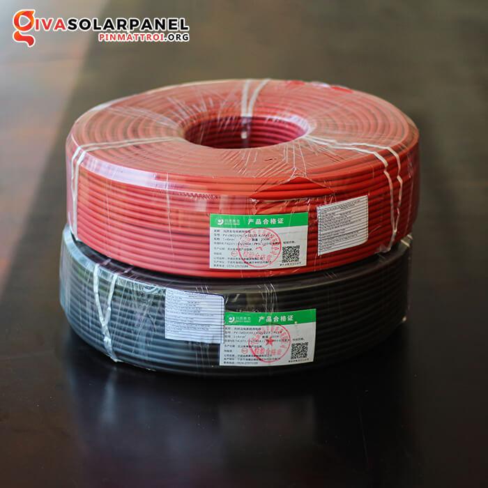 Dây cáp điện solar DC 6mm2 H1z2z2-K / PV1-F 3