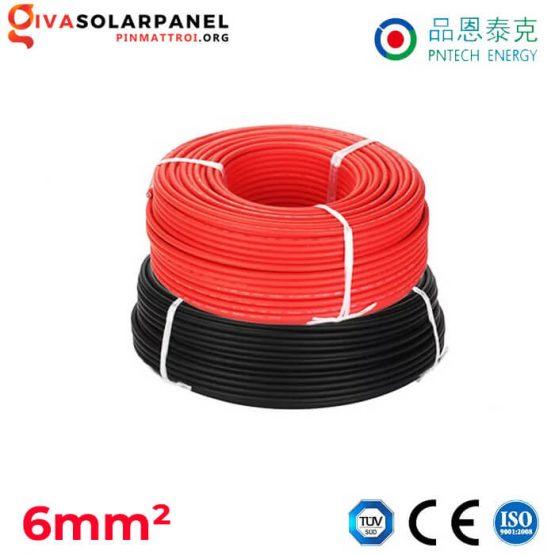 Dây cáp điện solar DC PNTECH 6mm2 H1z2z2-K / PV1-F