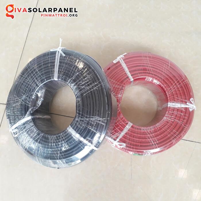 Dây cáp năng lượng mặt trời PN Tech 4mm2 H1Z2Z2-K PV1-F 8