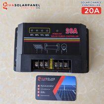 Bộ điều khiển sạc pin mặt trời PWM SCF 20A