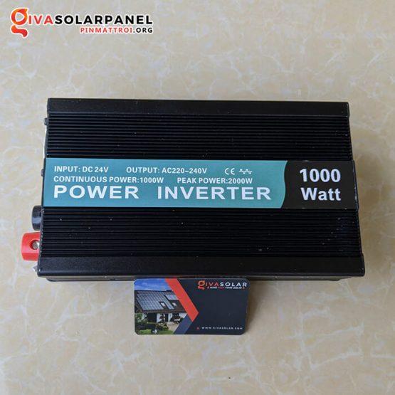 Máy kích điện Inverter năng lượng mặt trời 24V 1000W