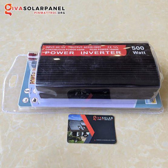 Bộ kích điện năng lượng mặt trời 12V 500W