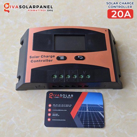 Bộ sạc pin năng lượng mặt trời PWM SCL 20A