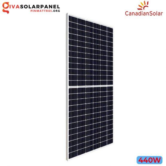 Tấm năng lượng mặt trời CanadianSolar HiKu CS3W-440MS (440W)