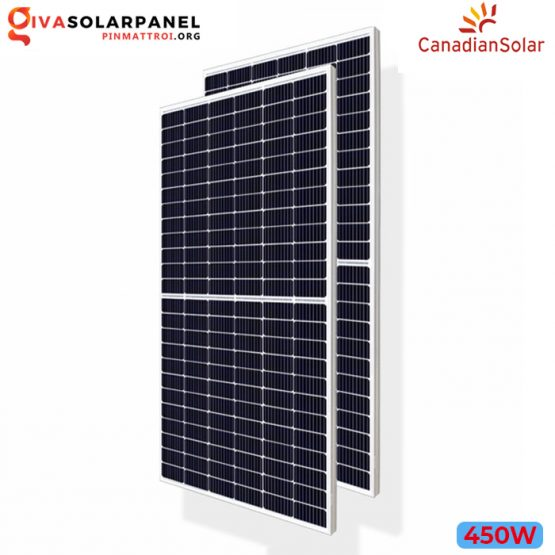 Tấm pin năng lượng Canadian Solar HiKu CS3W-450MS (450W)