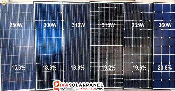 Hiệu suất của tấm pin năng lượng mặt trời 6