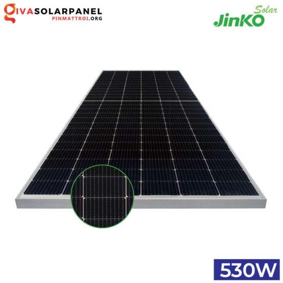 Pin năng lượng mặt trời JINKOsolar Tiger Pro HC 530W