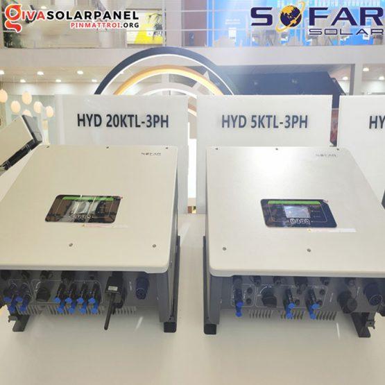 Biến tần Hybrid 3 pha Sofar HYD 5K~20KTL-3PH